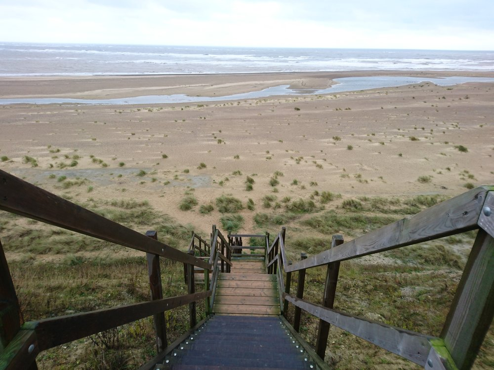 Steep Steps to Beach