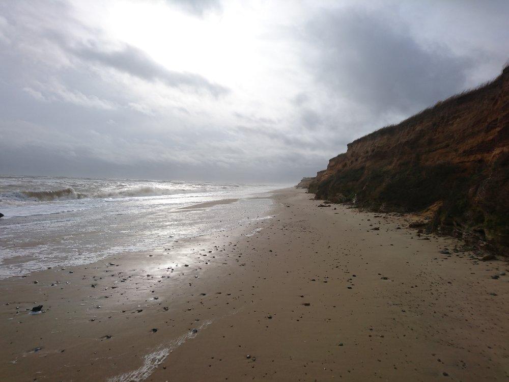 Beach Getting Narrower