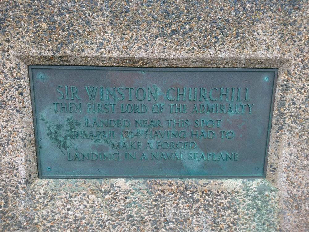 Churchill Plaque