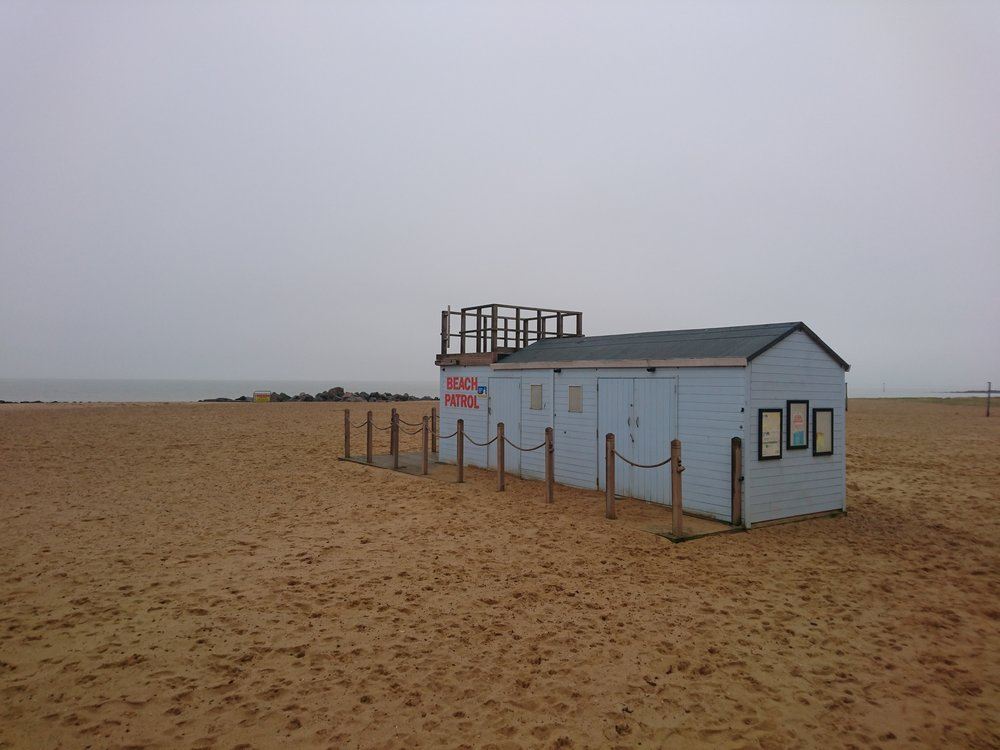 Beach Patrol Hut