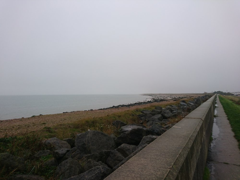 Sea Wall near Jaywick