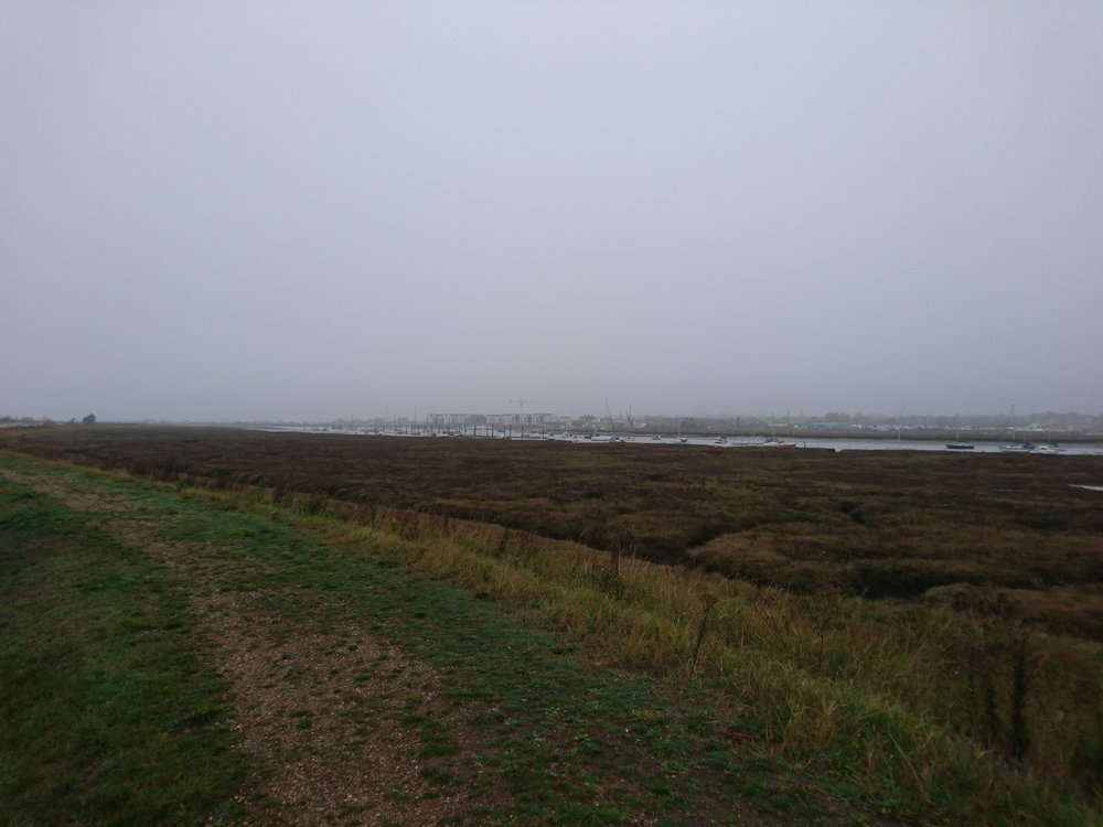 Brightlingsea through the Haze
