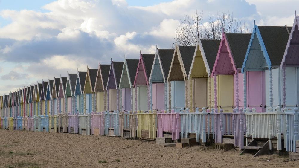 West Mersea Beach Huts