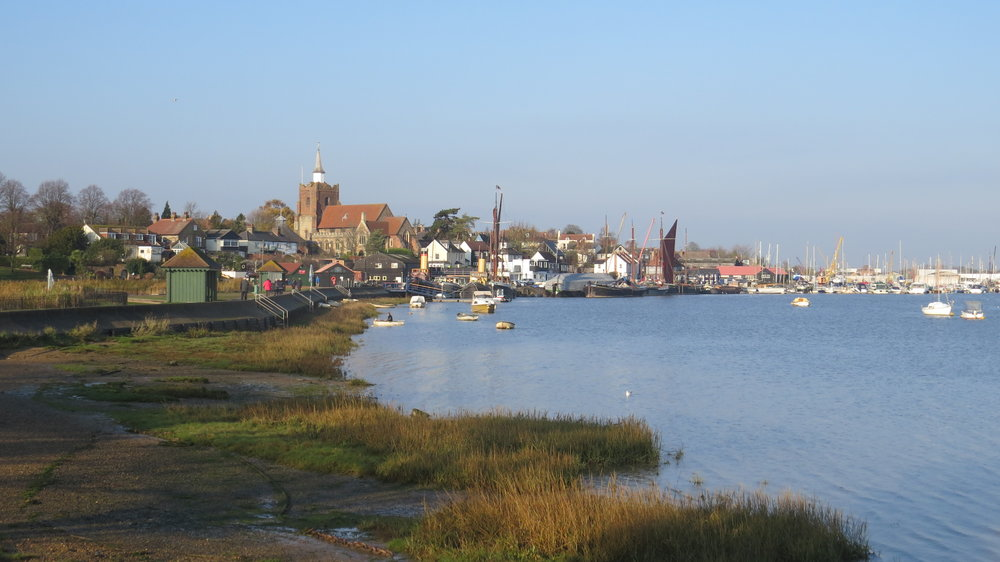 Looking back to Maldon
