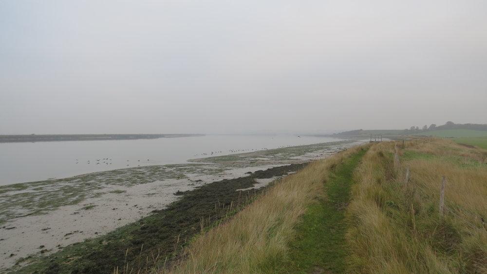Embankment Walking I