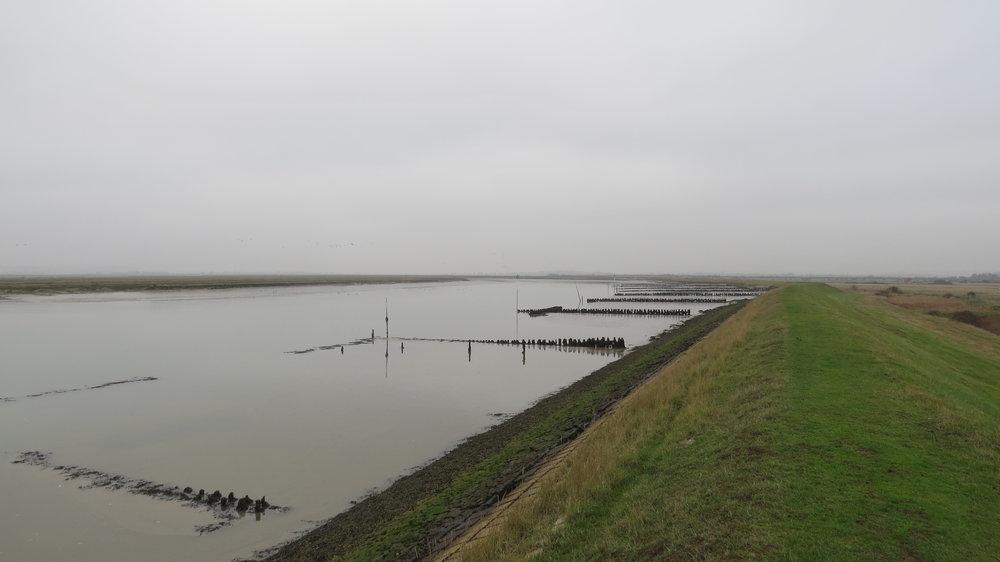Embankment Walking II