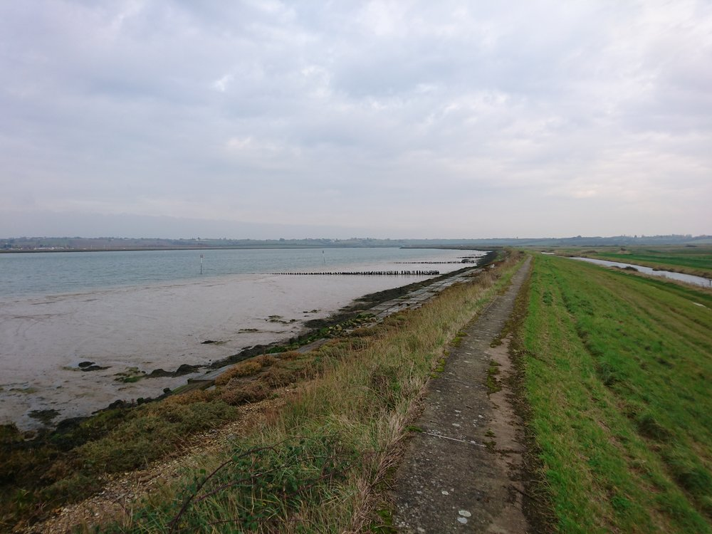 Embankment along River Crouch II