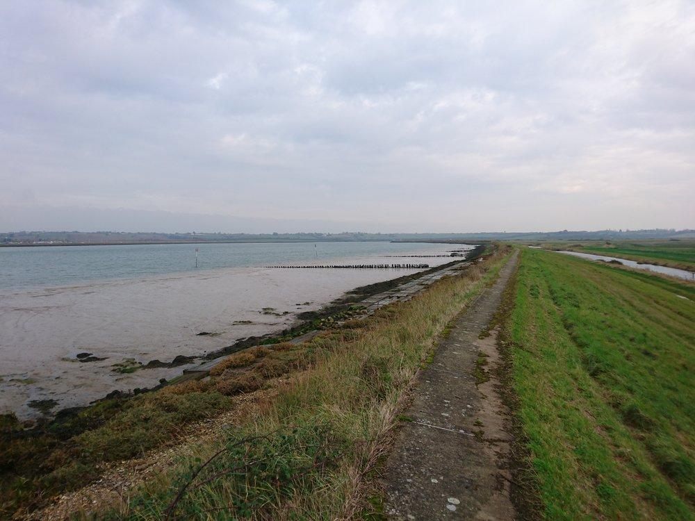 Embankment along River Crouch II
