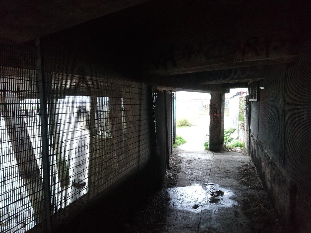 Tunnel under Industrial Jetty