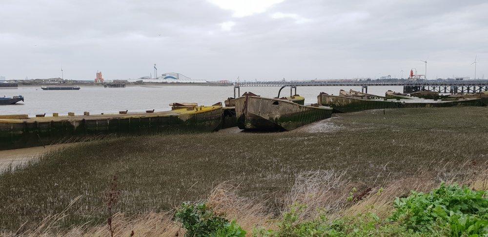 Barge Graveyard