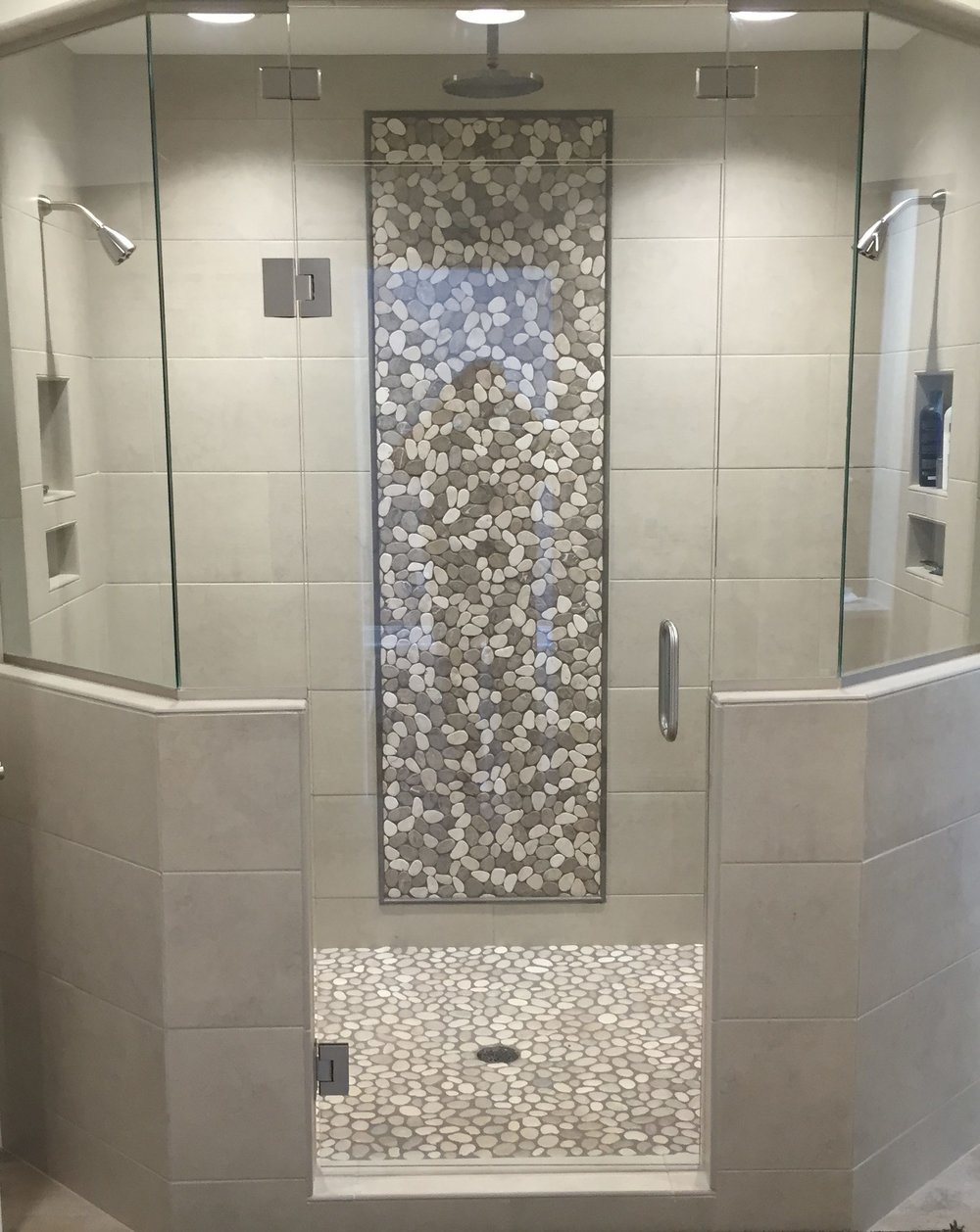 Diversified Glass custom shower enclosure