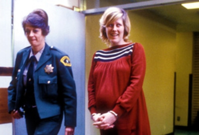 Diane Downs pregnant at her arrest