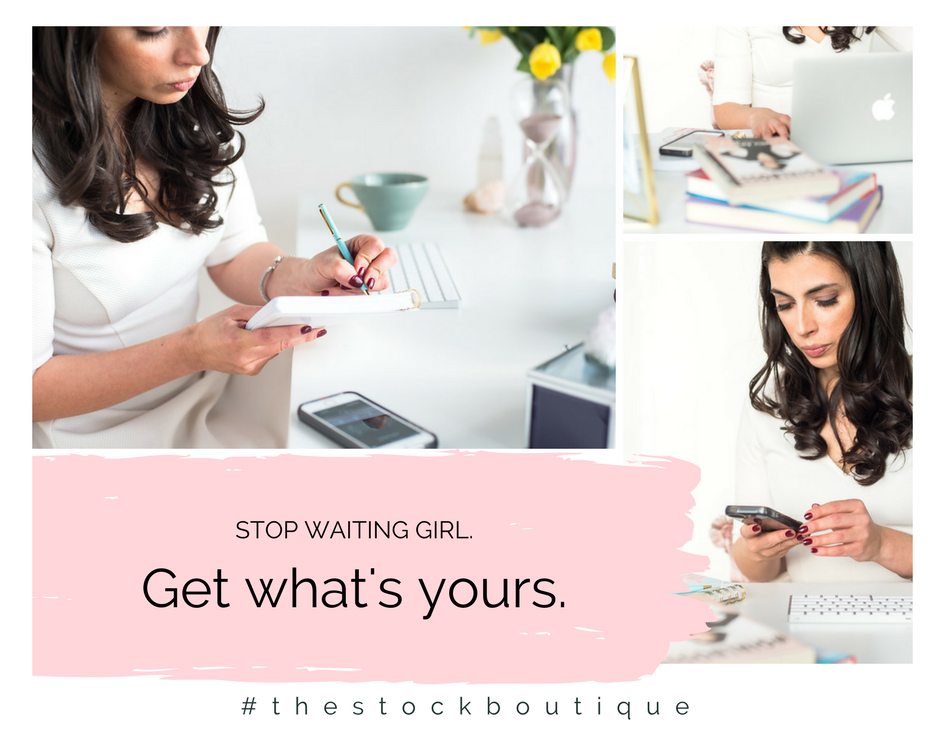 In an ideal world we would have all the time to be creative, create awesome marketing plans, be disruptive in our industries, but the reality is that most of us don't even have time to throw on mascara before we head out the door to tackle our never-ending to-do list. I get it, you're super busy! www.thestockboutique.com