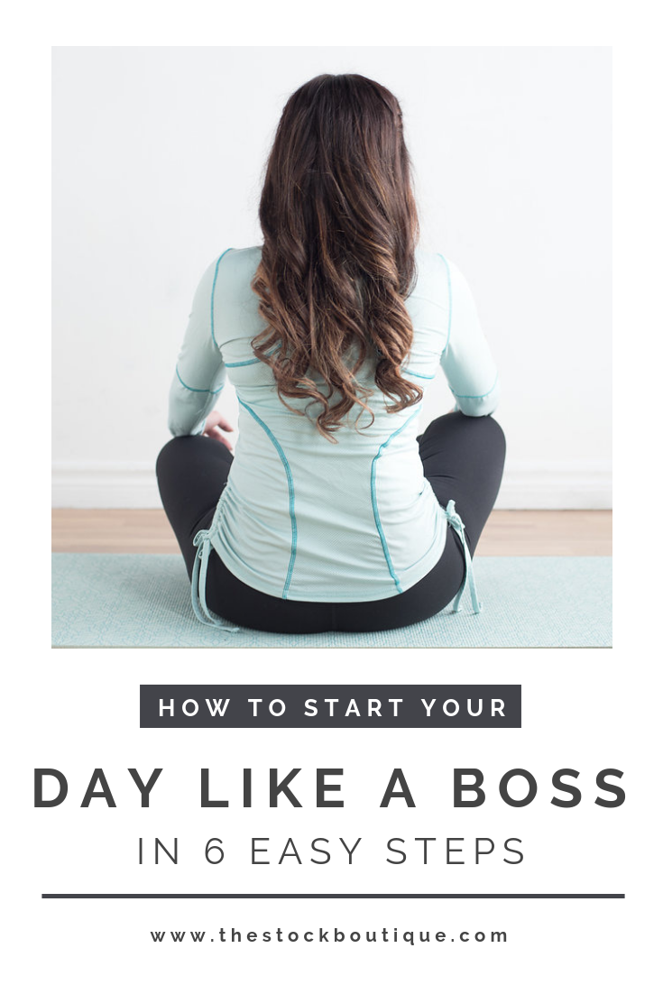 Every morning is a chance for a fresh start, so today we want to share a few helpful tips for starting your day off right! Here are our 6 easy steps to starting your day like a boss.