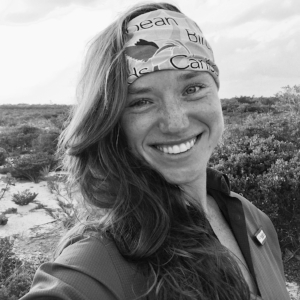 Adrienne Dale - Adrienne is a PhD student at Texas Tech University. She earned her BS in Wildlife Science at Virginia Tech and her MS in Conservation Medicine from Tufts University.Adrienne brings 8+ years of laboratory and field experience (the most recent 4.5 years being with the Smithsonian Migratory Bird Center in DC) to support her efforts tracking flying foxes and studying their ecology including diet, movement, and stress responses.She's interested in pursuing a career that combines disease and animal physiology with international fieldwork in order to learn about the ecological processes and their intersections with human cultures. In her spare time, she's an avid traveler and would love to be involved in community outreach and global health research.