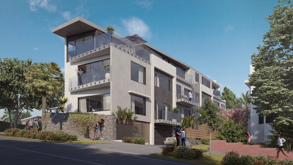 A 3-storey development by  Beaudomus