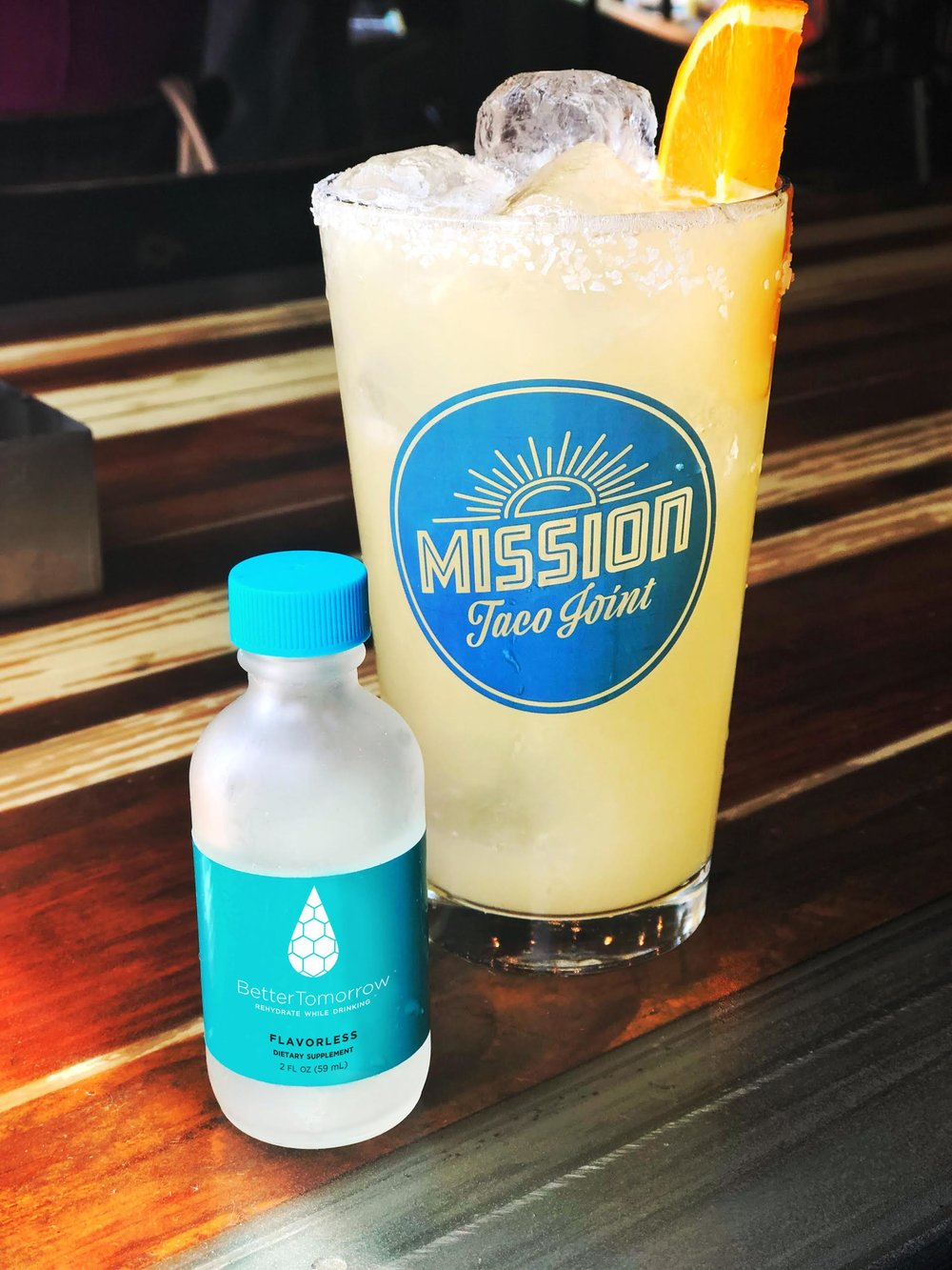 You haven't had a margarita like this before. - Now serving at all Mission Taco Joints in St. Louis, MO! Ask your bartender how to make any drink Better.