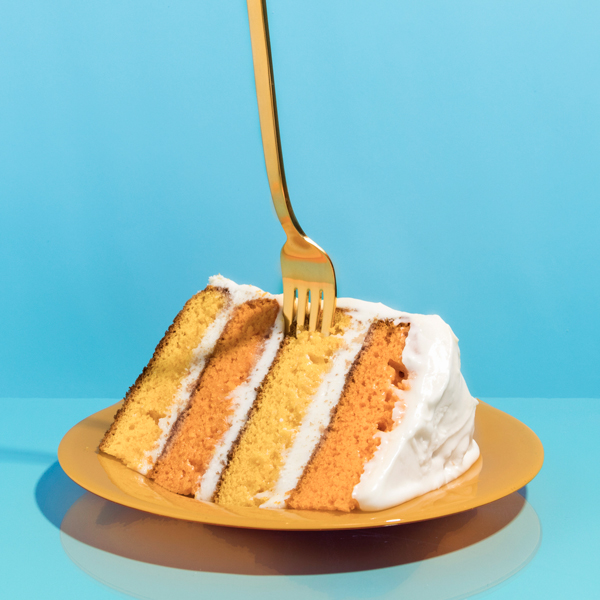 Sunny Day Cake   A cake so full of sunshine you might need your shades, with superstar color power from beta carotene (and a citrus smooch).     Get the recipe.