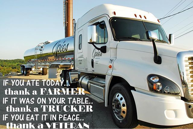 Happy #nationaltruckerday ‼️10-4 day ‼️Opie's would like to thank all our drivers for their hard work and dedication. If you haven't yet today; thank a trucker for all that they do, they move America! 🇺🇸🚍 ••••• #transportation #jobs #work #hiring #liquidbulk #driver #cdl #company #drivers #trucking #otr #foodgrade #transport #truckdriver #job #business #freightliner #trucklife #nowhiring #truckerday #truckerappreciation #thankyou