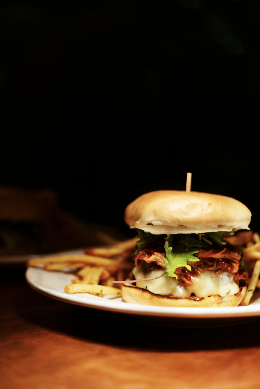the medley. burger