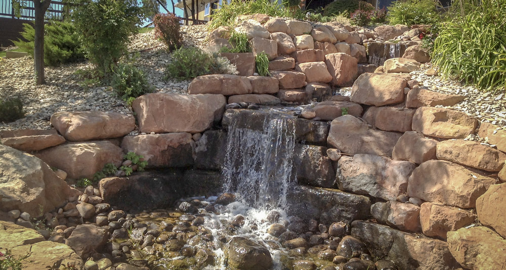 Water Features - Create a relaxing addition to your garden with a custom water feature.