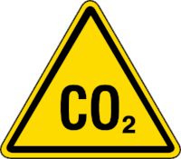Co2  is hazardous to the environments' and individuals' health if there is a prolonged exposure