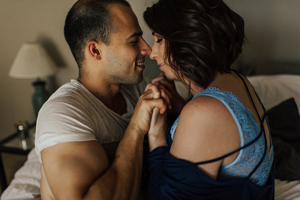 Intimate couple photography session in San Antonio