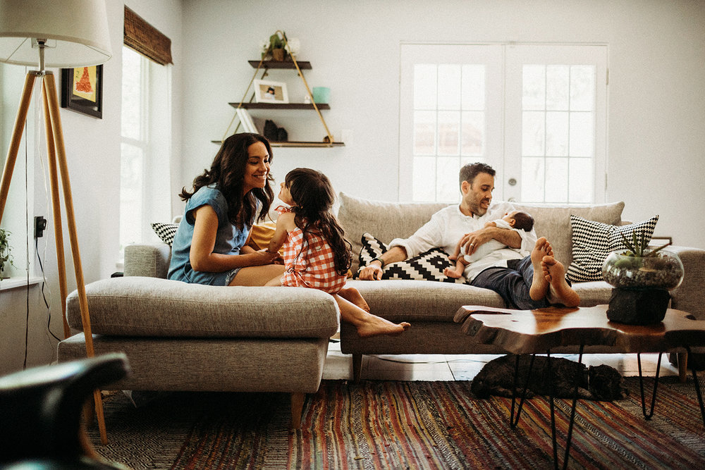 Lifestyle in home family