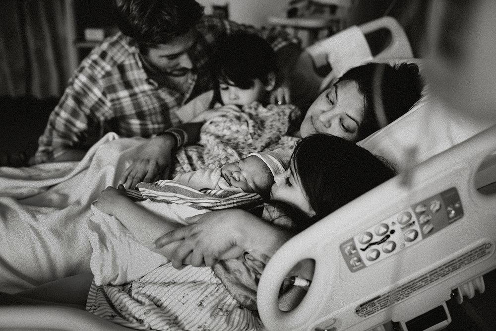 Newborn photography session in San Antonio