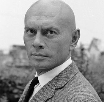 YUL BRYNNER as PROFESSOR X