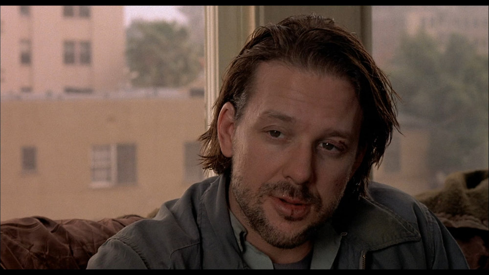 Mickey Rourke as Henry Chinaski in BARFLY (1987)