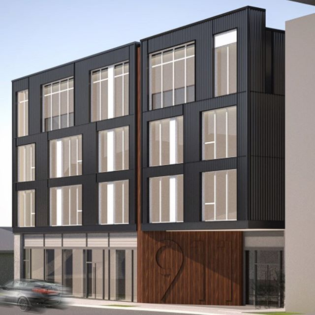 New infill project is out for bid!! . . . . . #architecture #infill #multifamily #contemporarydesign #design #designdevelopment #mixeduse