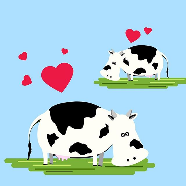 Did you know that cows have best friends? Studies have shown that cows experience stress when they're separated from their friend. Naturally, they feel happier when they're reunited. Do you like being separated from YOUR friends? . . . #cows #farm #dairy #cattle #SuppressandSmile #animalabuse #stopanimalabuse #animalcruelty #animation #aftereffects #2danimation #friends #bestfriends #bffs #cow #vegan #vegetarian #beef #milk #animalrights #animal #animallovers #dairyproducts #cute #cowsarecute #augustushinton #rachelwaldorf #instaart #udders #peta