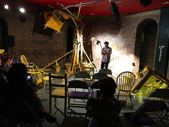 Lucky Bert's Immersive Installation Workshop at Roundhouse London