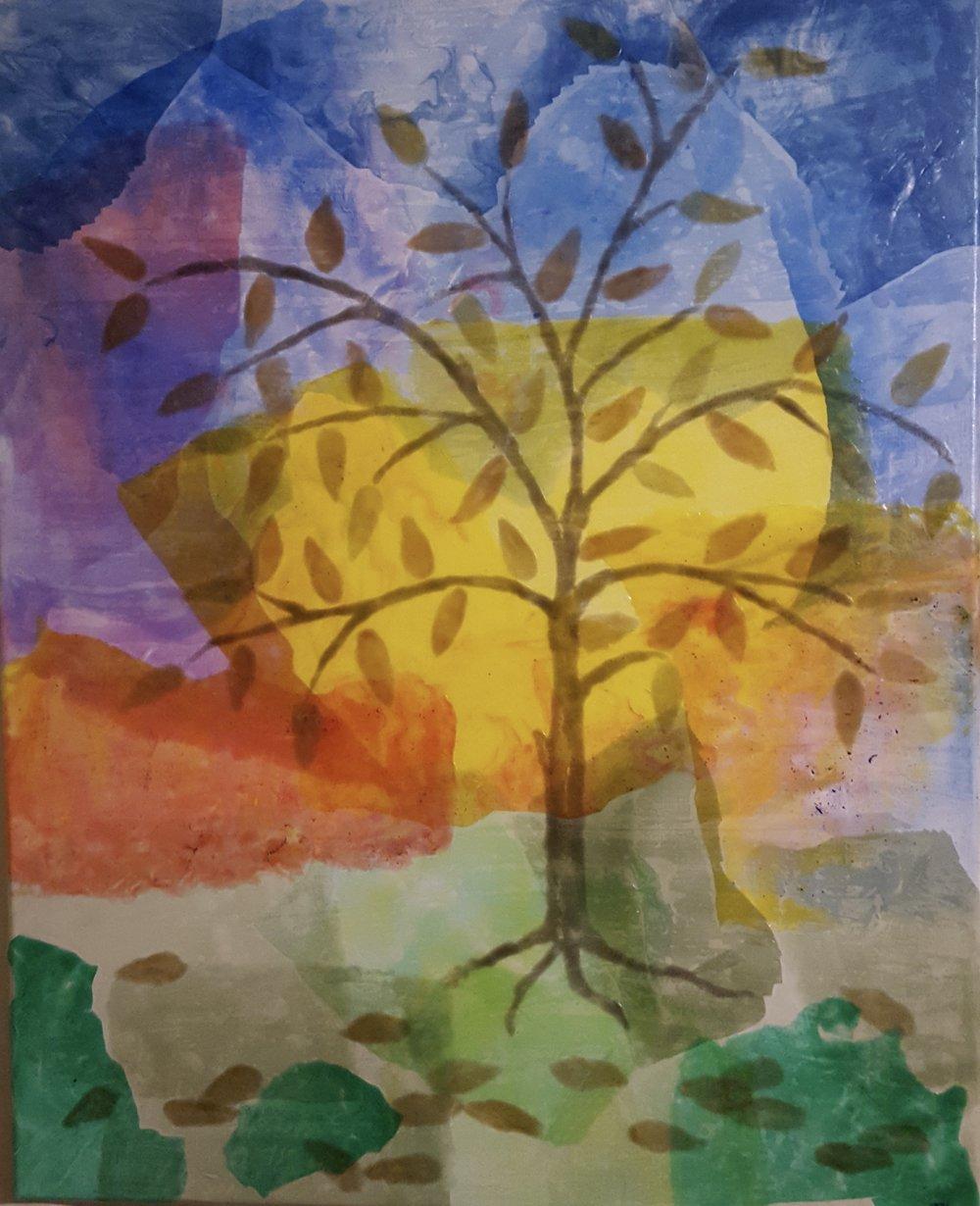 Painting by Teri Hatley