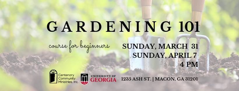 We are building community in the garden. Come out and join us.