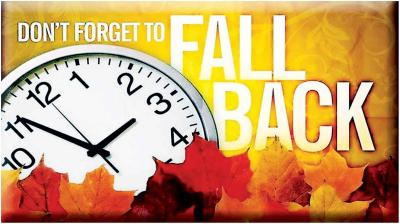 Image result for fall back 2019 time change