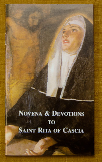 - $1Novena Devotional to Saint Rita of Cascia contains the Novena Prayers, Prayer of Petition, Prayer for the Sick, Prayer for Difficulty, Hymns, and a brief biography.English, Softcover 32 pages.