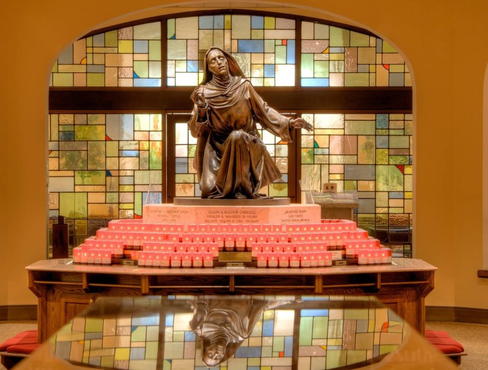 St. Rita of Cascia Candle Banks