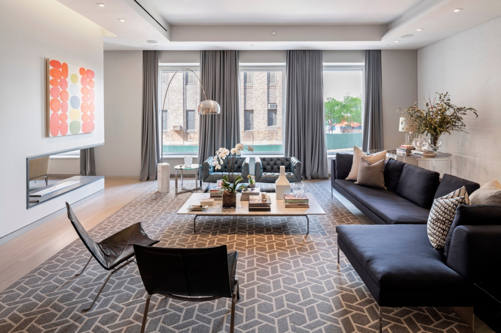 545 WEST 20TH STREET, 2B - $5,500,000 // 4 Beds // 3.5 Baths // 4,017 SQFTA palatial floor-through condo graced with a comprehensive collection of details and finishes, this 4-bedroom, 3.5-bathroom loft is a paragon of design. Features of this 4,017 sq. ft. home include gorgeous wide plank hardwood floors, huge casement windows with northern, southern, and eastern exposure, airy 11-ft ceilings, beautiful gallery-like walls, cast-iron columns, keyed elevator access, an integrated Sonos sound system, Lutron lighting, a convenient laundry and mud room, and a unique look-through gas fireplace.