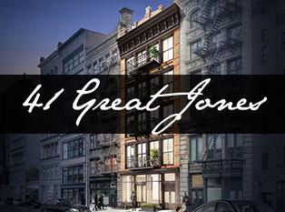 41 GREAT JONES - 41 Great Jones Street