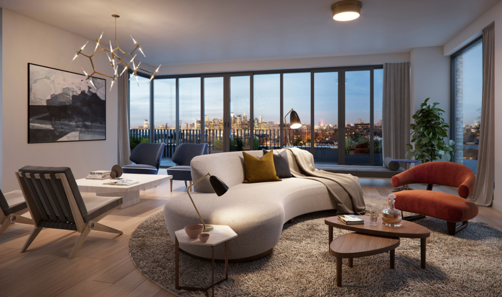 145 PRESIDENT STREET, PHN - $4,500,000 // 4 Beds // 3.5 Baths // 2,321 SQFT // 1,081A stunning corner penthouse designed through a lens of Scandinavian elegance and functionality, this 4-bedroom, 3.5-bathroom home is a portrait of contemporary Brooklyn luxury. Features of this 2,321 sq. ft. apartment include French door-inspired floor-to-ceiling windows with northern and eastern exposure, gorgeous white oak floors, airy 9-ft ceilings, multi-zone heating and cooling, a convenient in-unit washer/dryer, and a private 1,061 sq. ft. terrace with charming neighborhood views.