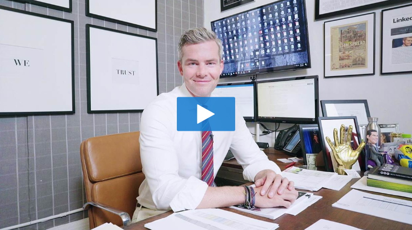"""Peek Inside Ryan Serhant's 'Million Dollar' Office"" - - NBC NEWS"