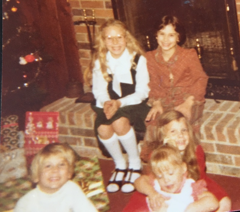 Third Grade Kyle on the right on the hearth with my sister Michelle. On the floor are siblings Shane, Bob and Heather. Christmas at Grandma and Grandaddy Ken Ken's.