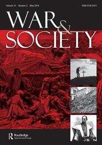 War & Society 31:1 (2012)