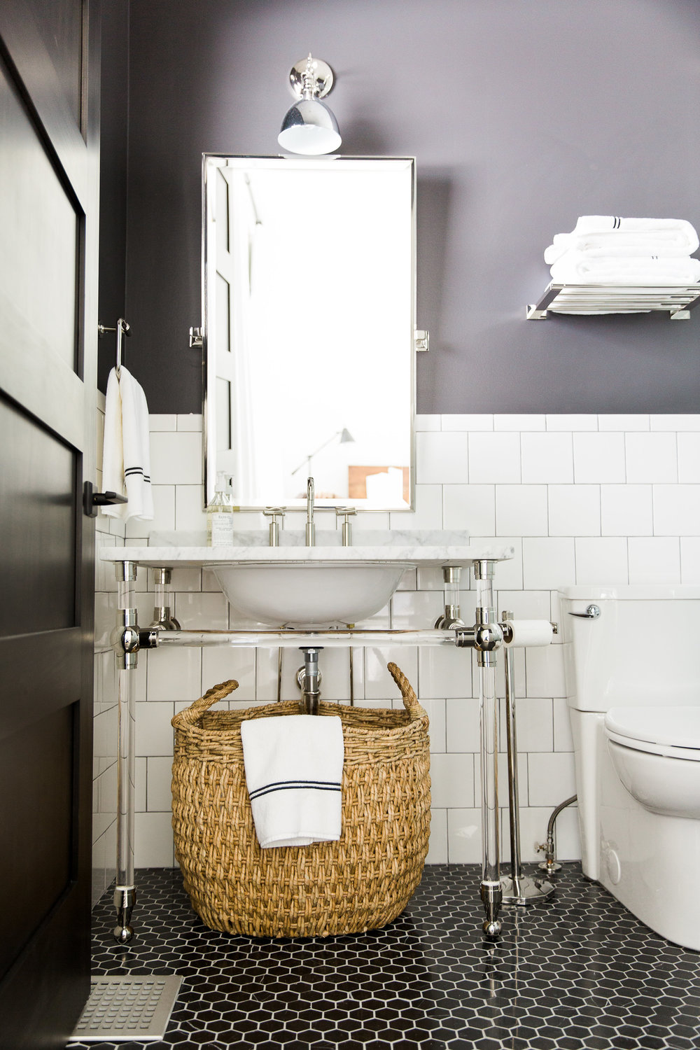 How to Get that Designer Bathroom for Under $600 — the savvy lockbox