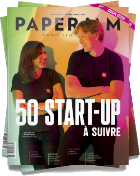 Paperjam magazine cover - November 2018
