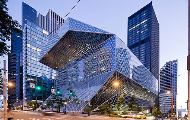My beloved Seattle Public Library.