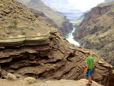 """""""The view of the canyon after hiking up to a lookout"""" photo courtesy of Sarah Alexander."""