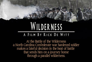 WILDERNESS  - A Civil War story from the other side. Directed by Richard De Witt, C, TMP, 2017 New Film Group, LLC. All Rights Reserved